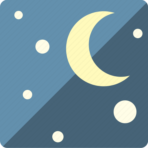 moon, space, star icon