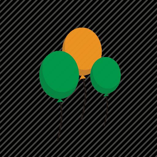 17 maret, balloon, day, eco, fly, green, icon, ireland, irish, leaf, patrick, patrick's day, saint, saint patrick's day, st patrick, st patrick day icon