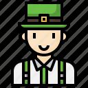 irish, young, boy, avatar