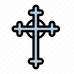 bible, christian, cross, holy, jesus, religion icon