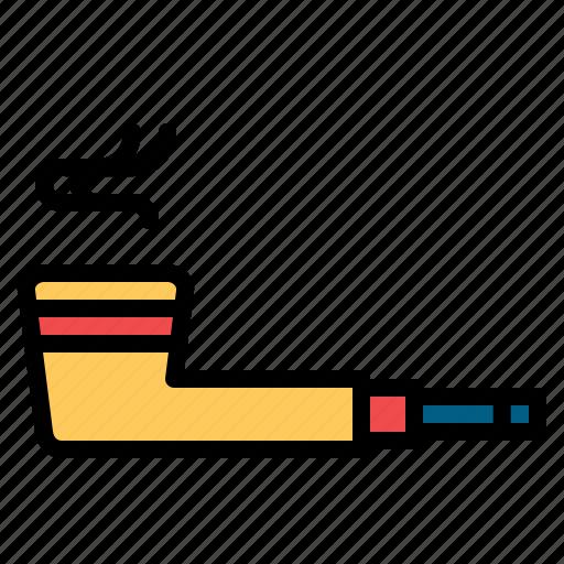 captain, leprechaun, patrick, pipe, smoke, smoking, st icon