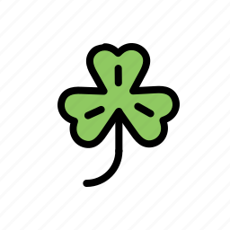 clover, four, ireland, irish, lucky, patrick, shamrock icon