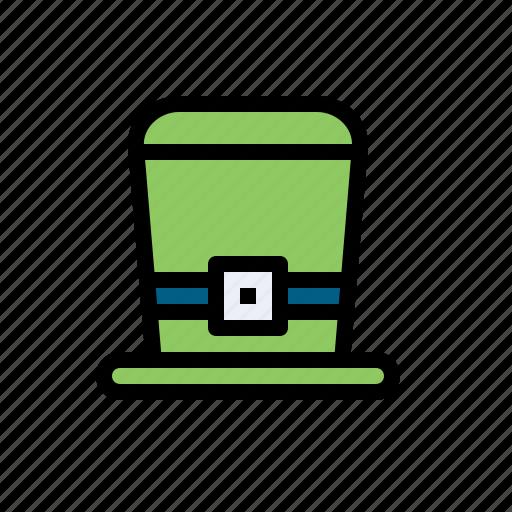 cap, clover, hat, irish, leperchaun, tophat, topper icon