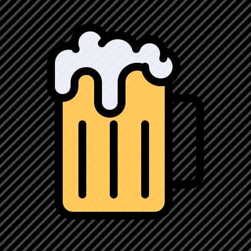 alcoholparty, beer, celebrate, drink, jar, mug, pub icon