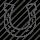 horseshoe, lucky, talisman, horse, shoe, fortune