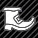 leprechaun, boot, saint, patrick, day, traditional