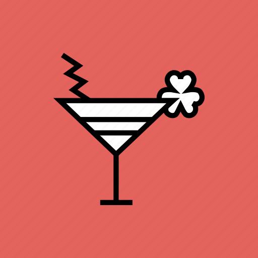 celebrate, cocktail, drink, mocktail, patricks, saint, shamrock icon