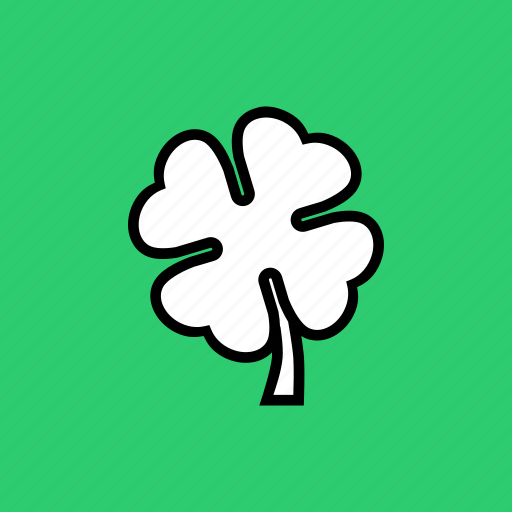 clover, day, four, leaf, patricks, saint, shamrock icon