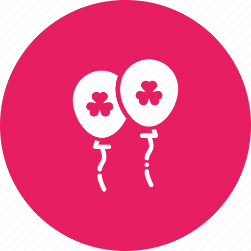 balloon, celebrate, day, festival, irish, patricks, saint icon