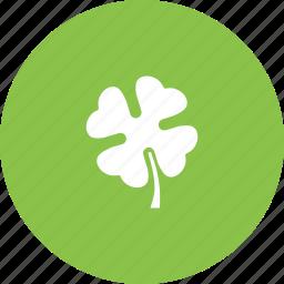 clover, four, leaf, patricks, saint, shamrock icon