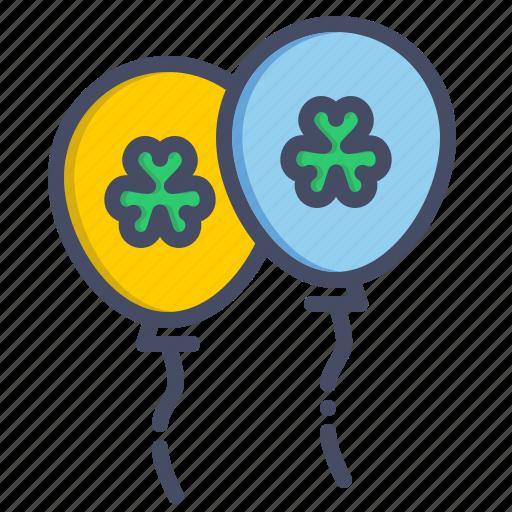 balloon, celebrate, celebration, festival, irish, patricks, saint icon