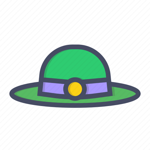 day, hat, irish, leprechaun, patricks, saint icon