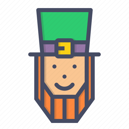 day, hat, irish, leprechaun, lucky, patricks, saint icon