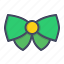 bow, clothing, day, irish, necktie, patricks, saint icon