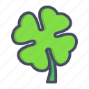 clover, day, four, leaf, patricks, saint, shamrock icon