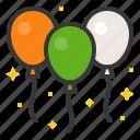 balloon, ireland, irish, patrick, saint patrick icon