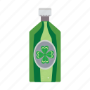 bottle, ireland, irish, patrick, st icon