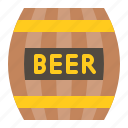 barrel, beer, beer barrel, ireland, irish, patrick, saint patrick icon