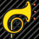 horn, music, multimedia, orchestra, instrument
