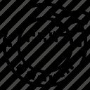 circle, design, dot, stamp