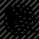 circle, design, grunge, stamp icon
