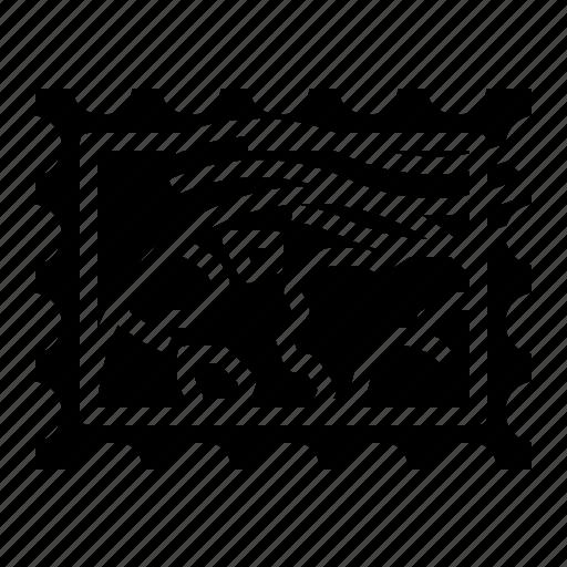 grunge, rectangle, stamp, world icon