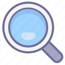 find, magnifying glass, search, view icon