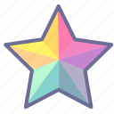 bookmark, favorite, favorites, like, star icon
