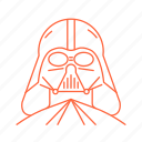 avatar, darkside, darth, darth vader, star, starwars, wars icon