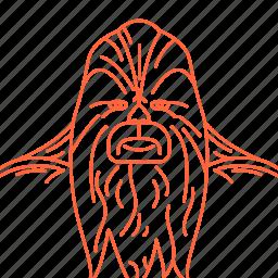 avatar, chubaka, star, starwars, wars icon
