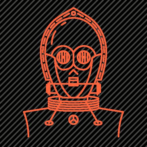 avatar, c-3po, c3po, star, starwars, wars icon