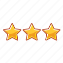 hotel, mark, rank, star, stars, tree icon