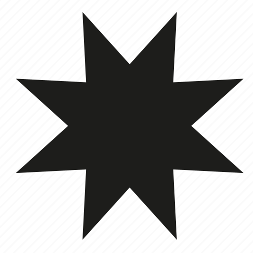 Filled, point, star icon - Download on Iconfinder