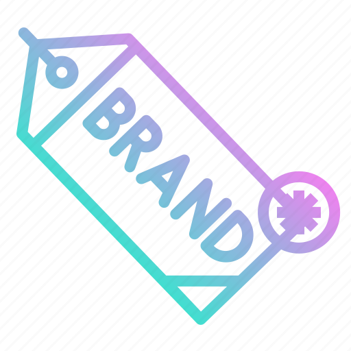 brand, design, label, logo, tag icon