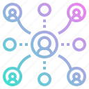 group, link, network, team, user icon