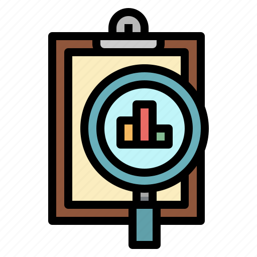 analysis, analytics, chart, clipboard, data icon