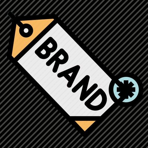 brand, design, label, logo, tag icon