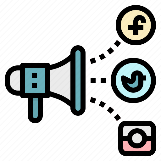 Advertisement, media, megaphone, promotion, social icon - Download on Iconfinder