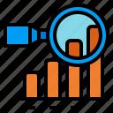 analysis, data, proposal, research, summarize icon