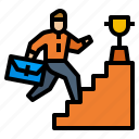 avatar, finish, goal, mission, success icon