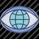 eye, global, international, view, vision, visual