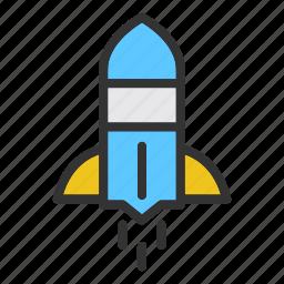 business, concept, finance, marketing, rocket, start, up icon