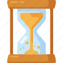 hourglass, sand, sand clock, time