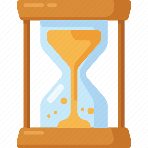 hourglass, sand, sand clock, time icon