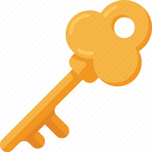 key, lock, open, password icon