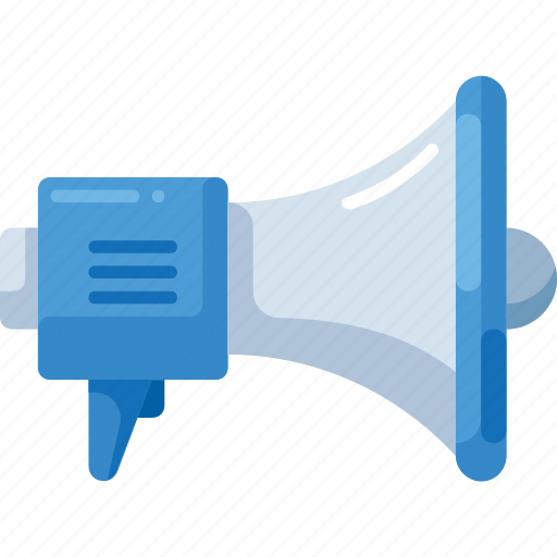 advertisement, marketing, megaphone, promotion icon