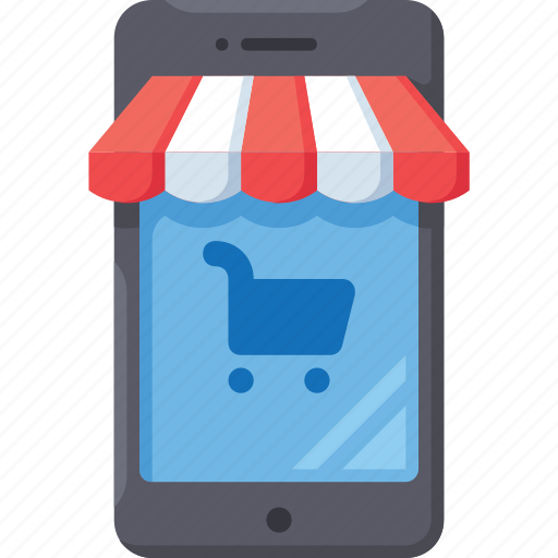 buy, mobile, shop, store, web icon