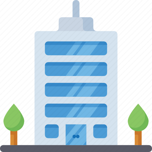 Building, city, street, office icon - Download on Iconfinder