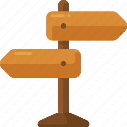 road, sign, street, way icon