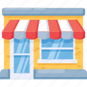 building, business, market, shop, store